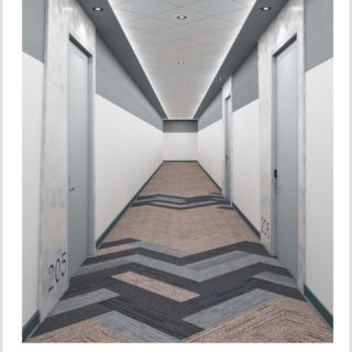 From design to completion @magnicocontracting constructed over 14,000 SF of public corridors in this office building. @thedesignersgroup #magnicospeed #comercialconstruction #officespaces #capex #corridor