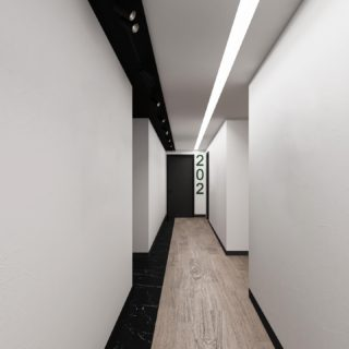 We are finalizing construction on these corridors designed by @thedesignersgroup #magnicospeed #corridor #constructionphotography #officedesign #officespace #commercialconstruction #commercialrealestate