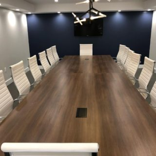 Office fit out conference room